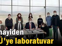 Sanayiden GTÜ'ye laboratuvar