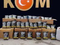 Kocaeli'de kilolarca kaçak tütün ele geçirildi!