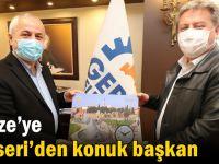 Gebze'ye Kayseri'den konuk başkan