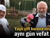Çayırova'da yaşlı çift aynı gün vefat etti