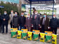 50 hibeli tohum desteği çiftçilere ulaştırılmaya başlandı