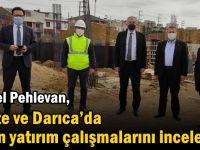 Pehlevan Gebze ve Darıca'da süren yatırım çalışmalarını inceledi!