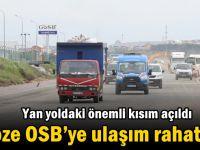 Gebze OSB'ye ulaşım rahatladı