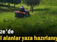 Gebze'de  yeşil alanlar yaza hazırlanıyor