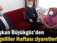 Başkan Büyükgöz'den Engelliler Haftası Ziyaretleri