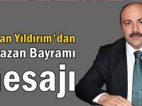 Başkan Yıldırım'dan Ramazan bayramı mesajı