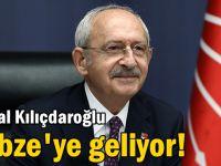 Kemal Kılıçdaroğlu Gebze'ye geliyor!