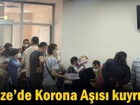 Gebze'de Korona Aşısı kuyruğu!