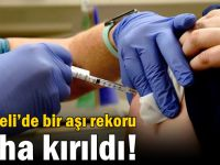 Kocaeli'de bir aşı rekoru daha kırıldı!
