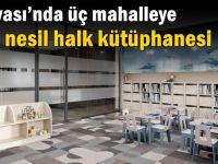 Dilovası'nda üç mahalleye yeni nesil halk kütüphanesi