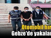 Araç hırsızı Gebze'de yakalandı!