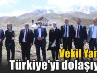 Vekil Yaman, istişare toplantıları için Türkiye'yi dolaşıyor