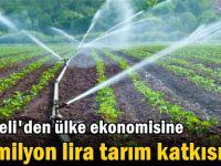 Kocaeli'den ülke ekonomisine 10 milyon lira tarım katkısı!