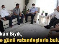 Başkan Bıyık, Arefe günü vatandaşlarla buluştu