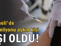 Kocaeli'de 1,5 milyonu aşkın kişi aşı oldu