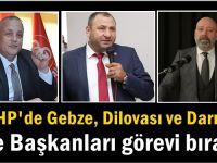 MHP Gebze, Dilovası ve Darıca İlçe Başkanıları görevini bıraktı