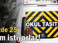 Servisçilerden yüzde 25 zam talebi