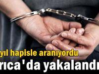 236 yıl hapisle aranıyordu Darıca'da yakalandı