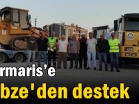 Marmaris'e Gebze'den destek