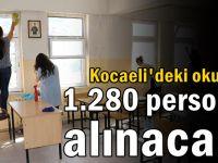 Kocaeli'de okullara 1.280 personel alınacak!