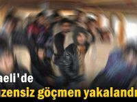 Kocaeli'de 9 düzensiz göçmen yakalandı!