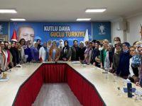 Ak Partide Başkan Özdemir sahaya döndü!
