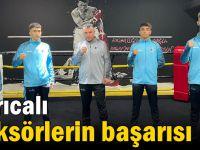 Darıcalı boksörlerin başarısı
