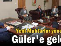 Yeni Muhtarlar yönetimi Güler'e geldi!