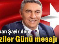 Başkan Şayir'den Gaziler Günü mesajı