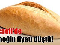 Kocaeli'de ekmeğin fiyatı düştü!