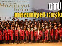 GTÜ'de Mezuniyet Töreni Gerçekleştirildi
