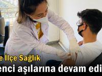 Gebze İlçe Sağlık öğrenci aşılarına devam ediyor