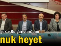 Büyükgöz'e Bulgaristan'dan konuk heyet