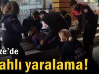 Gebze'de silahlı yaralama! 1 yaralı