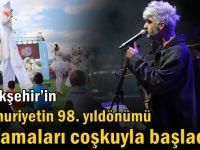 Büyükşehir'in Cumhuriyetin 98. yıldönümü kutlamaları coşkuyla başladı