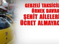 Gebzeli taksicilerden  örnek uygulama