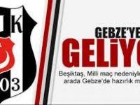 Beşiktaş Gebze'ye Geliyor