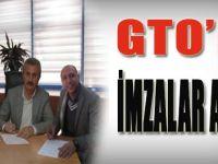 GTO'da İmzalar Atıldı
