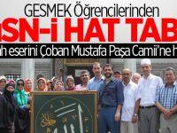 GESMEK'ten Hüsn-i Hat tablo
