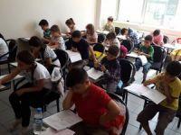 Bilgievleri'nde sınav zamanı