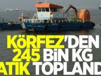 Körfez'den 245 bin kg atık toplandı