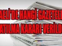 KOCAELİ'DE HANGİ GAZETELERE KAPATILMA KARARI VERİLDİ ?