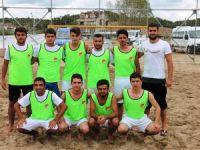 Plaj Futbol Liginde final heyecanı