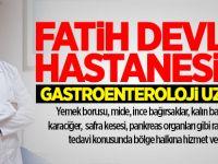Fatih Devlet Hastanesine Gastroenteroloji Uzmanı