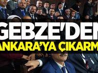 Gebze'den Ankara'ya Çıkarma