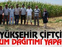 Büyükşehir çiftçiye tohum dağıtımı yapacak