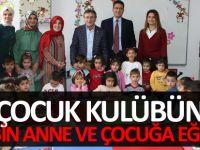 6 Çocuk Kulübünde 2 Bin Anne ve Çocuğa Eğitim