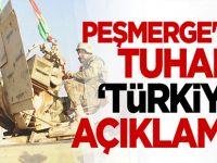Peşmerge'den tuhaf 'Türkiye' açıklaması