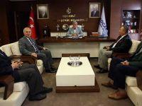 Başkan Karaosmanoğlu, Cem Vakfı'nı konuk etti
