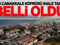 1915 Çanakkale Köprüsü ihale tarihi açıklandı!
